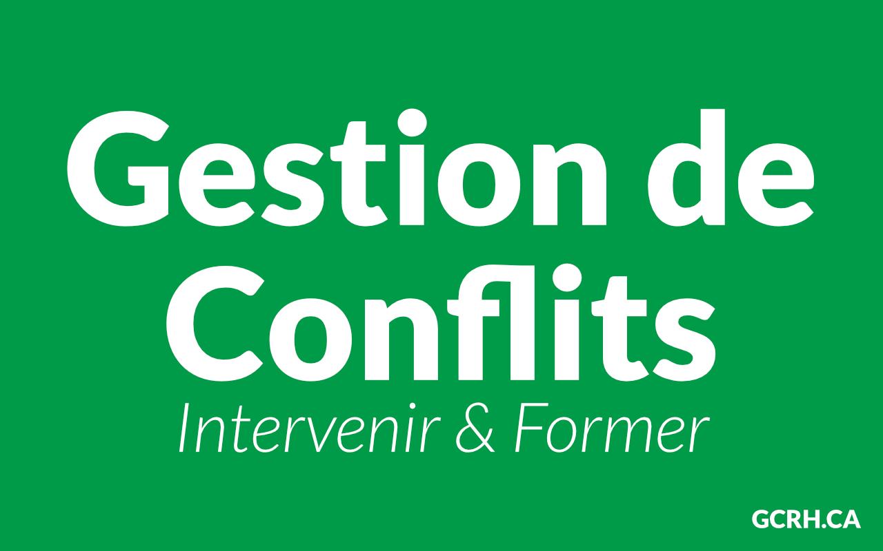Résolution de conflit de rencontres